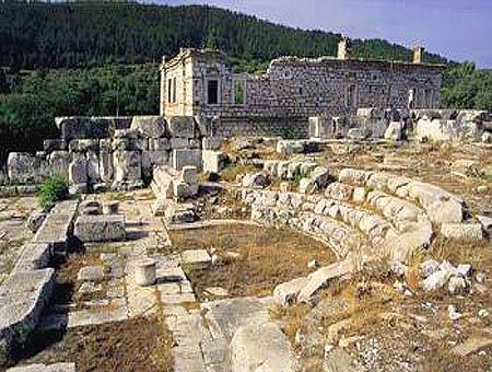 Descubierta una iglesia milenaria en la provincia egea de Muğla