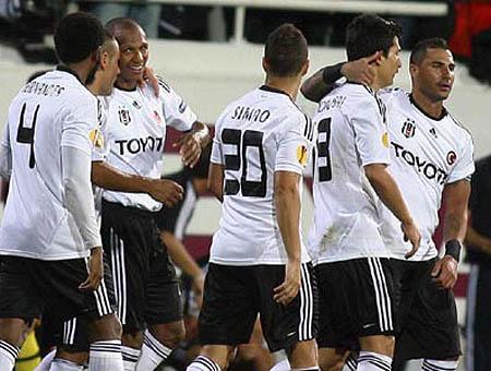 El Beşiktaş pasa a la tercera ronda de la Copa de Turquía