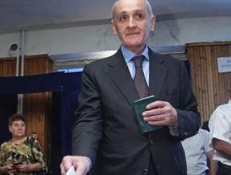 Alexander Ankvab, nuevo presidente de Abjasia