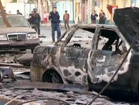 Tres muertos por la explosión de un coche bomba en el Cáucaso ruso