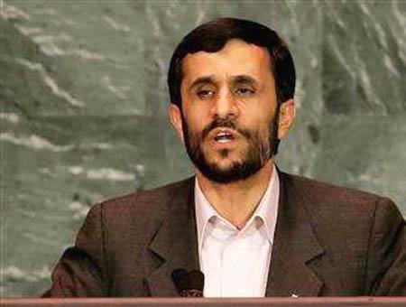 Ahmadineyad onu