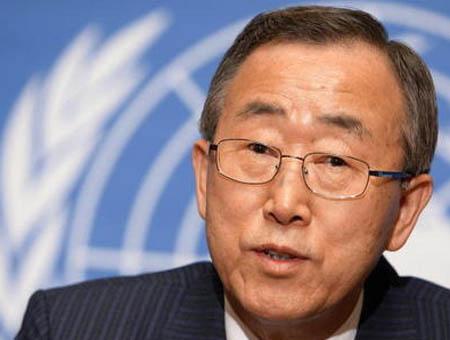 Ban Ki-Moon urge al diálogo para acabar con las protestas en Turquía