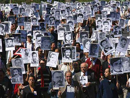 Fotografías de las víctimas del golpe de estado de 1980