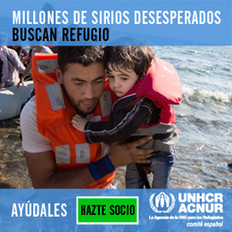 banner refugiados ACNUR