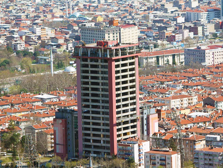 Bursa edificio tower plaza