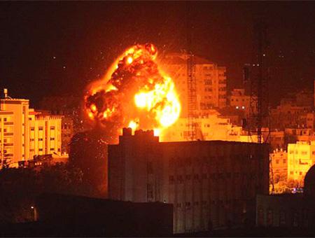 Palestina gaza bombardeo israel