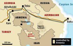 El ferrocarril transcaucásico estará finalizado en 2011