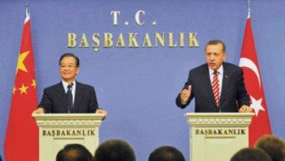 Turquía y China acuerdan iniciar una nueva era de