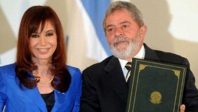Cristina Fernandez Argentina Lula Brasil