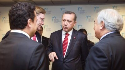 Erdogan Babacan Strauss Kahn FMI