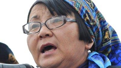 Roza Otunbayeva Kirgizistan