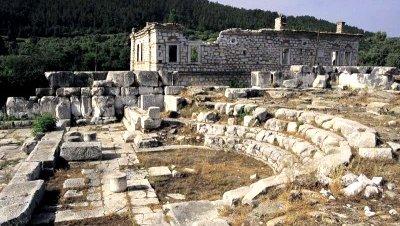 El antiguo teatro de Stratonikeia busca financiación