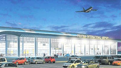 Aeropuerto internacional pristina kosovo