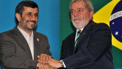 Ahmadineyad lula da silva