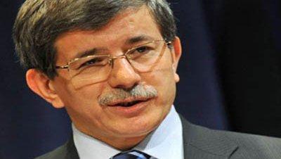 Ahmet davutoglu ministro exteriores turquia