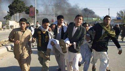Ataque afganistan protesta onu