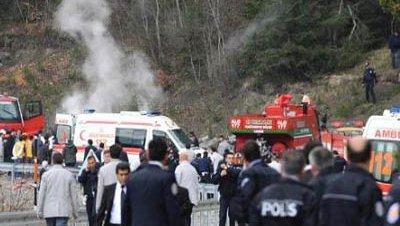 Atentado kastamonu convoy erdogan turquia