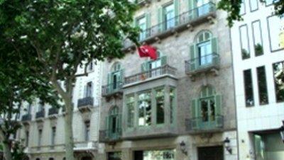 El consulado de Turquía en Barcelona reabre sus puertas tras 28 años