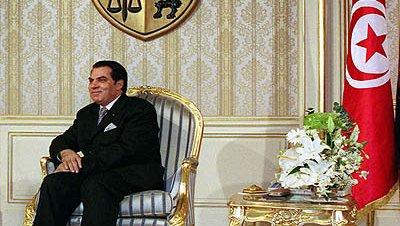 Ben ali presidente tunez 1