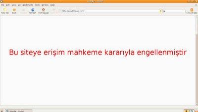 Blogger bloqueo internet turquia