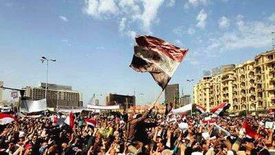 El mundo entero saluda la renuncia de Mubarak