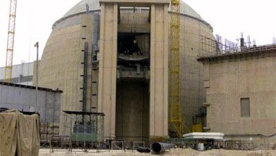 Central nuclear construccion iran