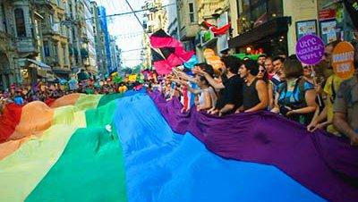 Estambul acogió la manifestación por el Día del Orgullo Gay en Turquía