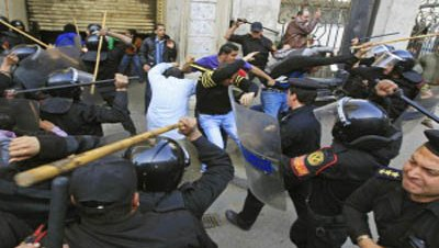 Disturbios policia protestas egipto