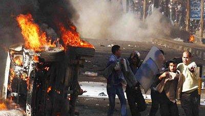 Disturbios protestas egipto mubarak