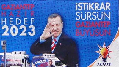 Elecciones cartel erdogan akp
