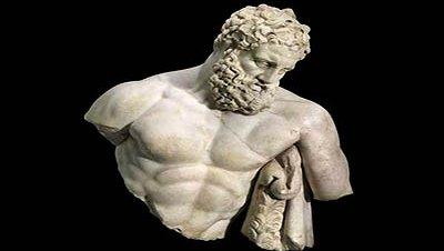 Estatua hercules heracles