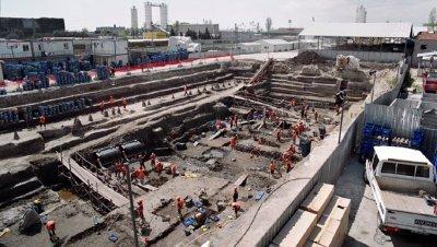 Descubierto prácticamente intacto un barco del siglo V en Yenikapı