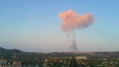 Al menos 12 muertos por una fuerte explosión en una base militar de Chipre