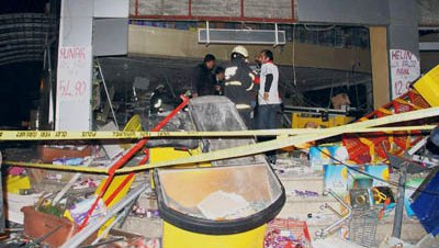14 heridos por una explosión de gas en un supermercado de Diyarbakır