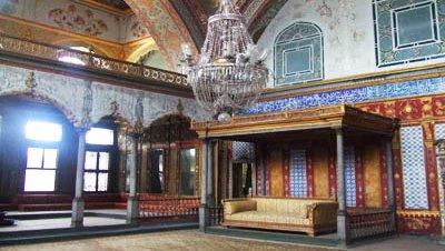 Preocupación por el estado del Harén de Topkapı
