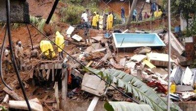 Inundaciones lluvias brasil