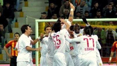 Kayserispor eskisehirspor liga futbol turquia