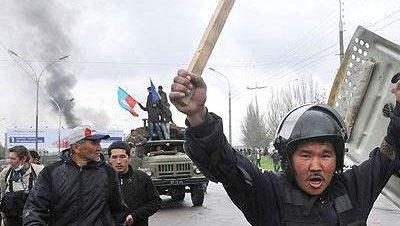 Kirgizistan protesto