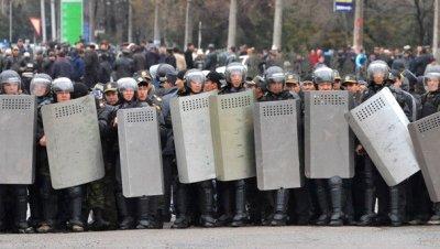 Kirgizistan protesto 1