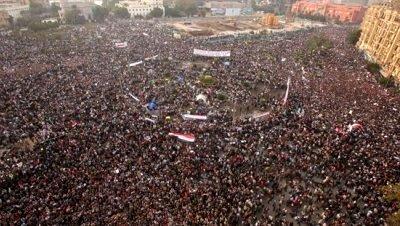 Manifestaciones egipto cairo mubarak