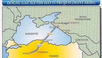 Turquía podría excluir a Israel del proyecto Blue Stream 2