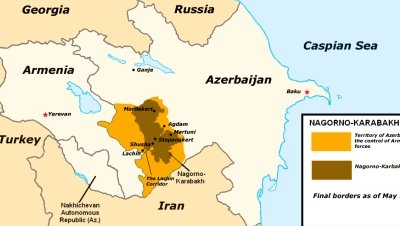 Nagorno karabaj haritasi