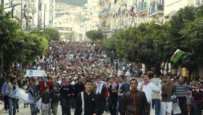 Protestas argelia 1