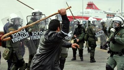 Protestas crisis grecia 2