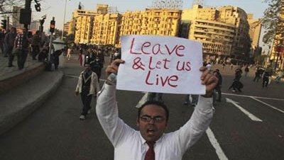 Protestas egipto cairo mubarak