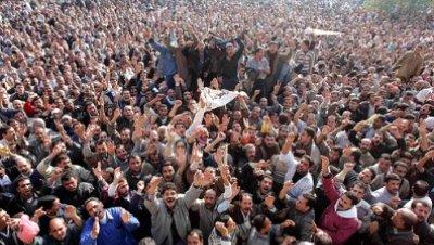 Protestas egipto contra mubarak
