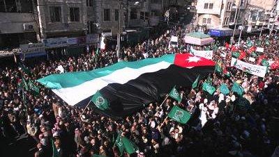 Protestas manifestaciones jordania