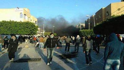 Protestas tunez