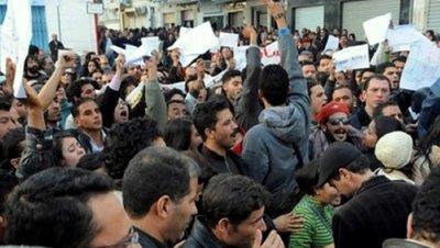Protestas tunez 2