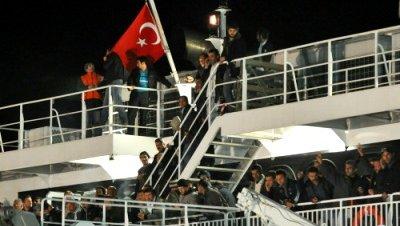 Turcos evacuados libia benghazi